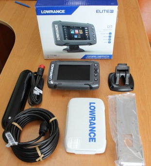 Эхолот-навигатор Lowrance Elite-5 Ti Mid/High/TotalScan